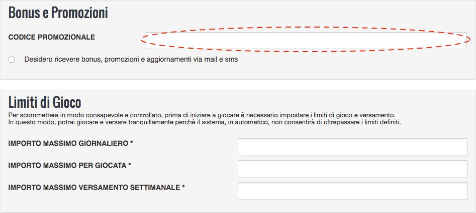 codice_promozionale_snai_registrazione