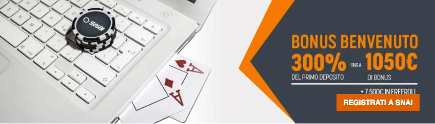 codice_promozionale_SNAI_poker