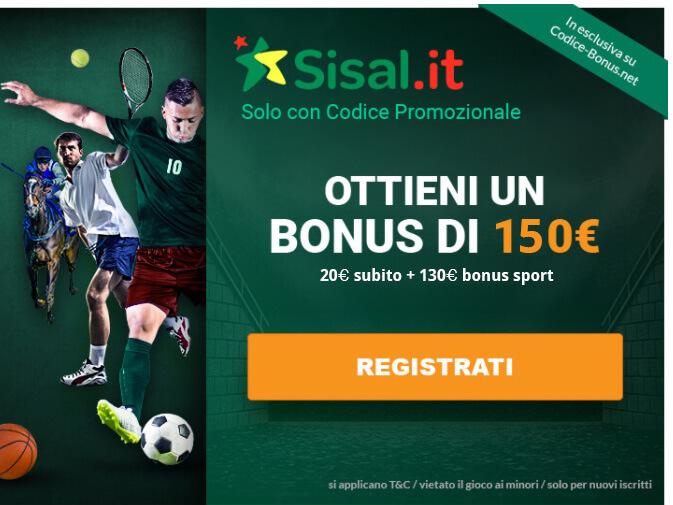codice-promozionale-sisal-bonus-benvenuto-sport