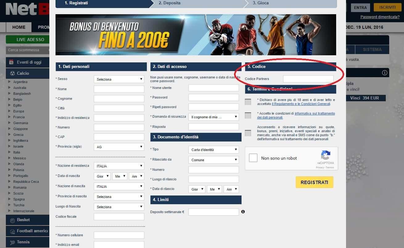 NetBet_codice_partner_registrazione