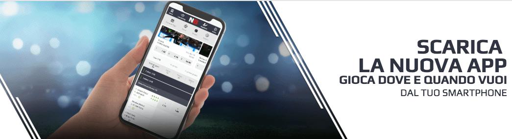 netbet codice partner app mobile scommesse