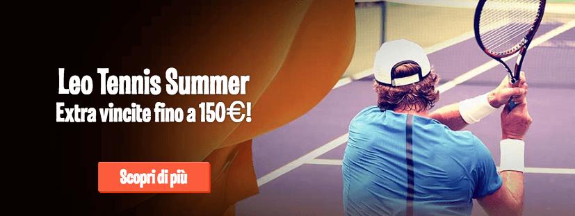 leovegas codice promo scommesse tennis