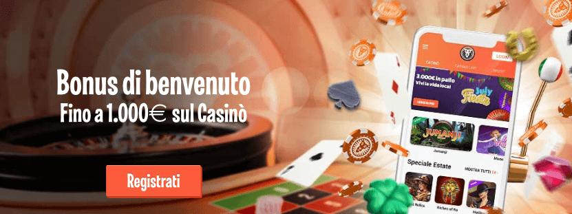 leovegas codice promo bonus di benvenuto casino