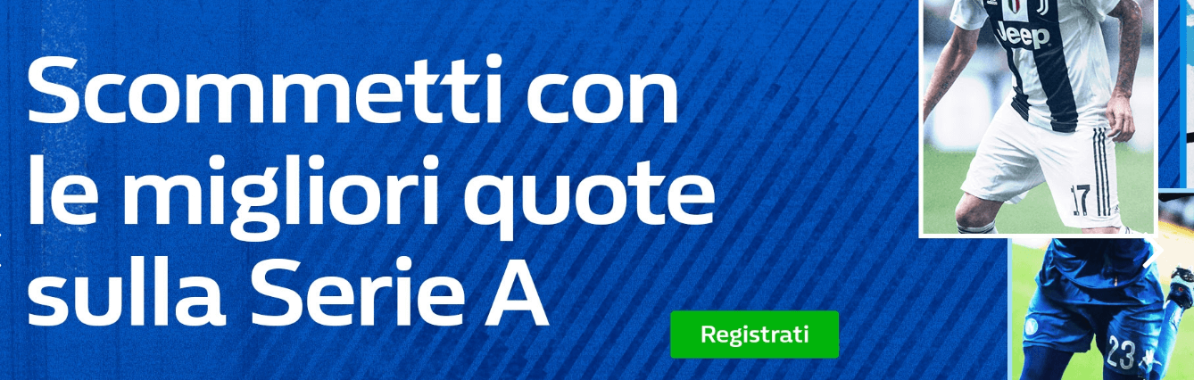 codice promo william hill scommesse serie a
