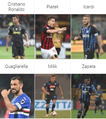 capocannoniere della Serie A