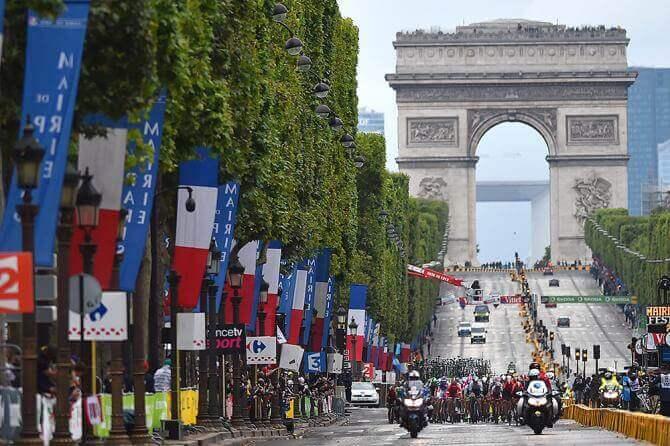 Tour de France - Champs elysees